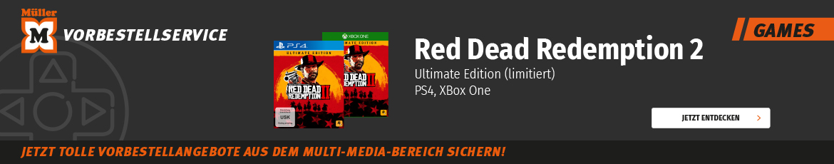 Vorbestellservice Red Redemption
