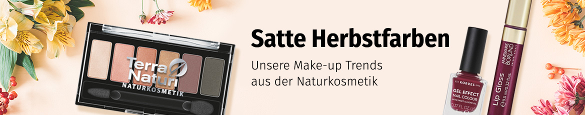 Make up aus der Naturkosmetik