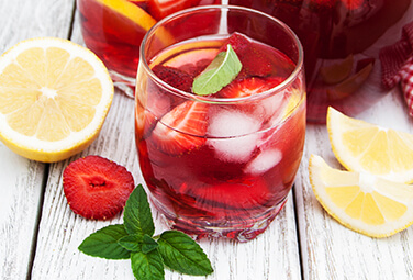 Rezept Strawberry-Mint-Tea