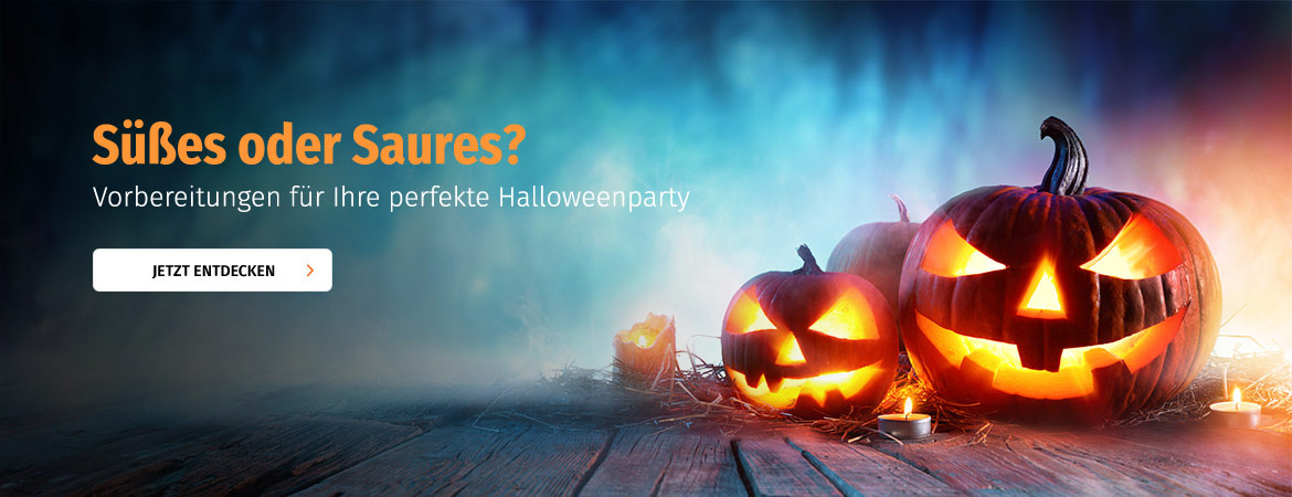 Die perfekte Halloween-Party
