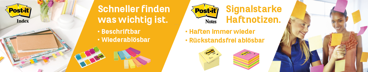 Post-it - Kleben und Notieren