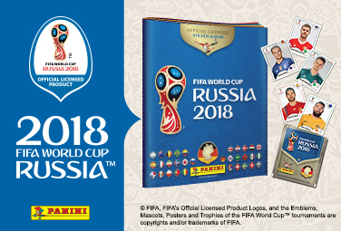 Panini Fifa World Cup 2018 bei Müller